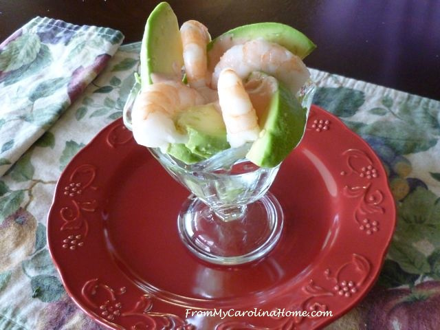 Shrimp Flower Appetizer at From My Carolina Home