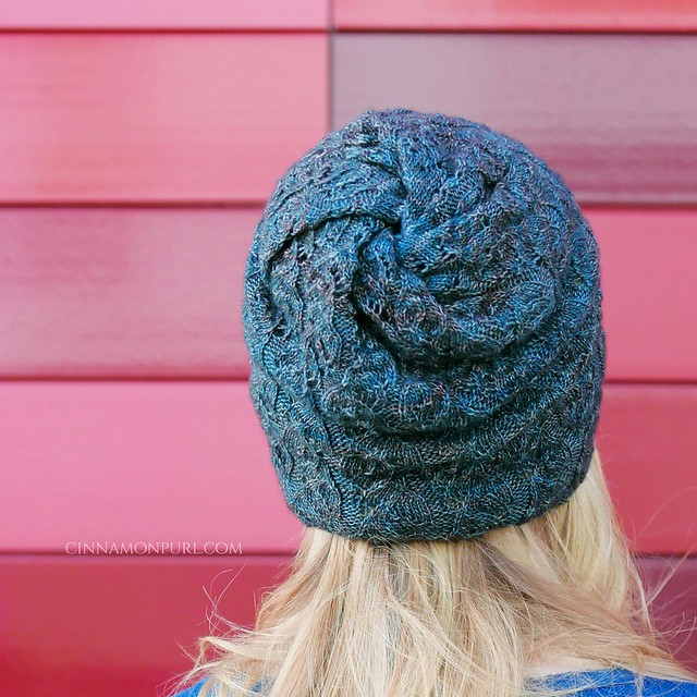 slouchy cyclone hat