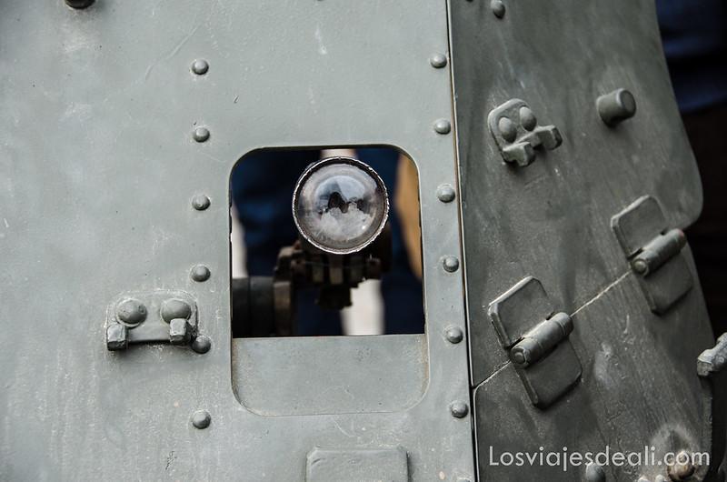 mirilla de cañón batalla del jarama