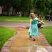 Reese Dancing in the Rain