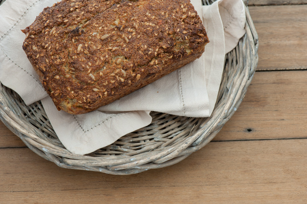 Life-Changing Cauliflower Seed Loaf