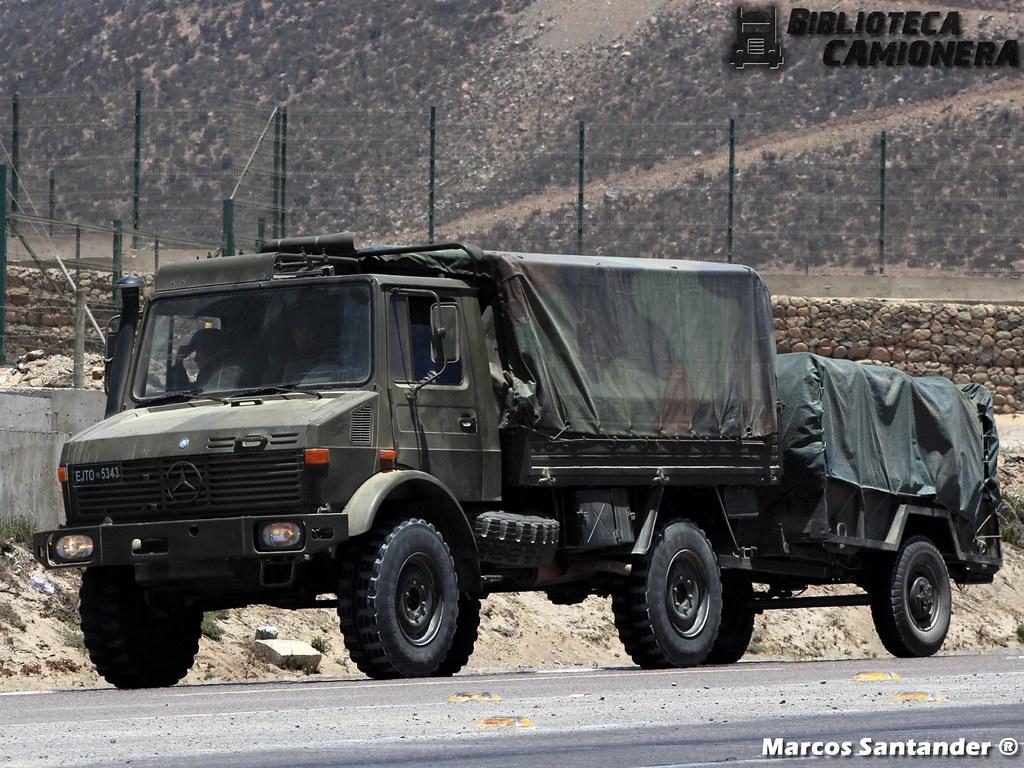 Mercedes-Benz Unimog U 1300 L / Ejército de Chile | Placa Pa… | Flickr