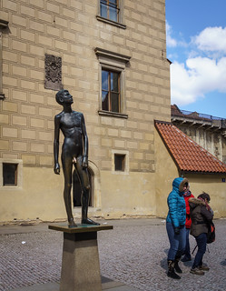 Sculpture in the Prague Castle | by Tigra K