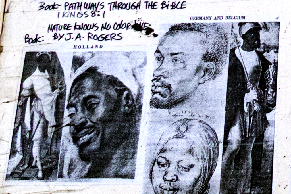 Black Israelites in Little Five Points--Atlanta (detail 2)