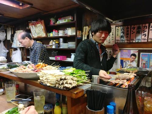 Grilling Yakitori