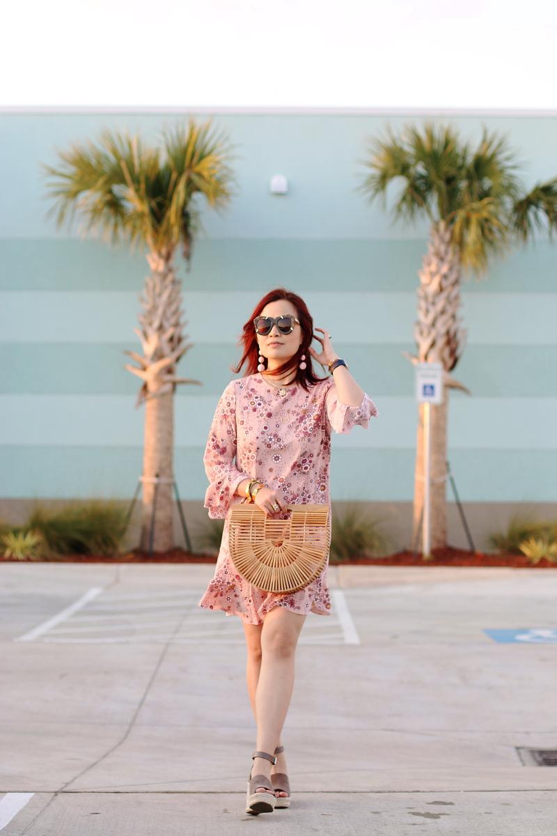 pink-dress-cult-gaia-wooden-ark-bag-wedge-sandals-10