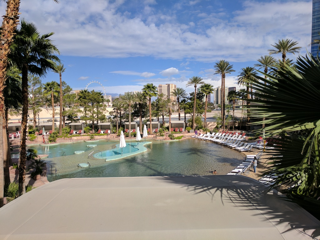 Pool at the Hard Rock Hotel and Casino in Las Vegas