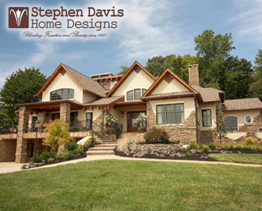 Custom Lake House Plans by Stephen Davis Home Designs #lak…   Flickr