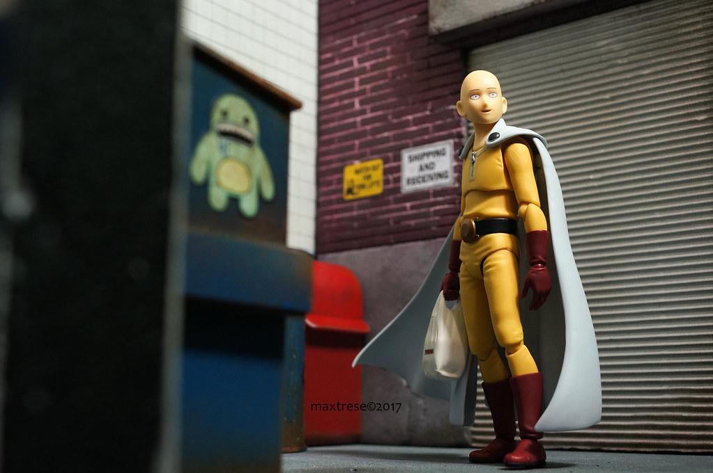 Figma One Punch Man Saitama