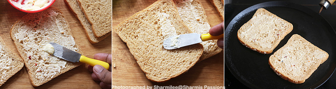 How to make Cheese toast recipe - Step2