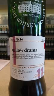 SMWS 70.16 - Mellow drama