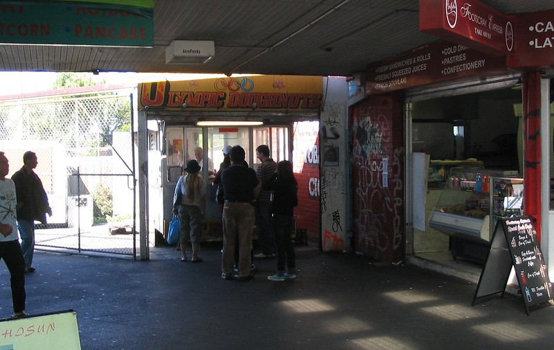 Olympic Doughnuts, Footscray, April 2007