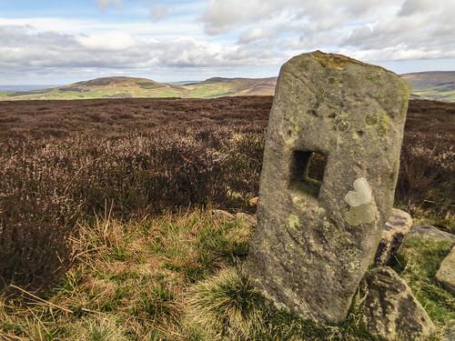 Green Howe boundary stone