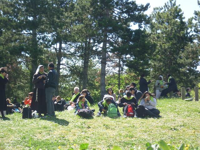 2017 04 18 au 22 - pèlerinage des collégiens à Lourdes
