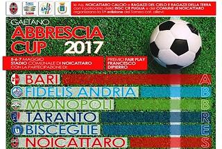 Noicattaro. GAetano Abbrescia Cup 2017 front