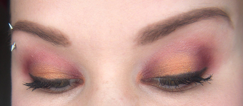 Smashbox Ablaze makeup