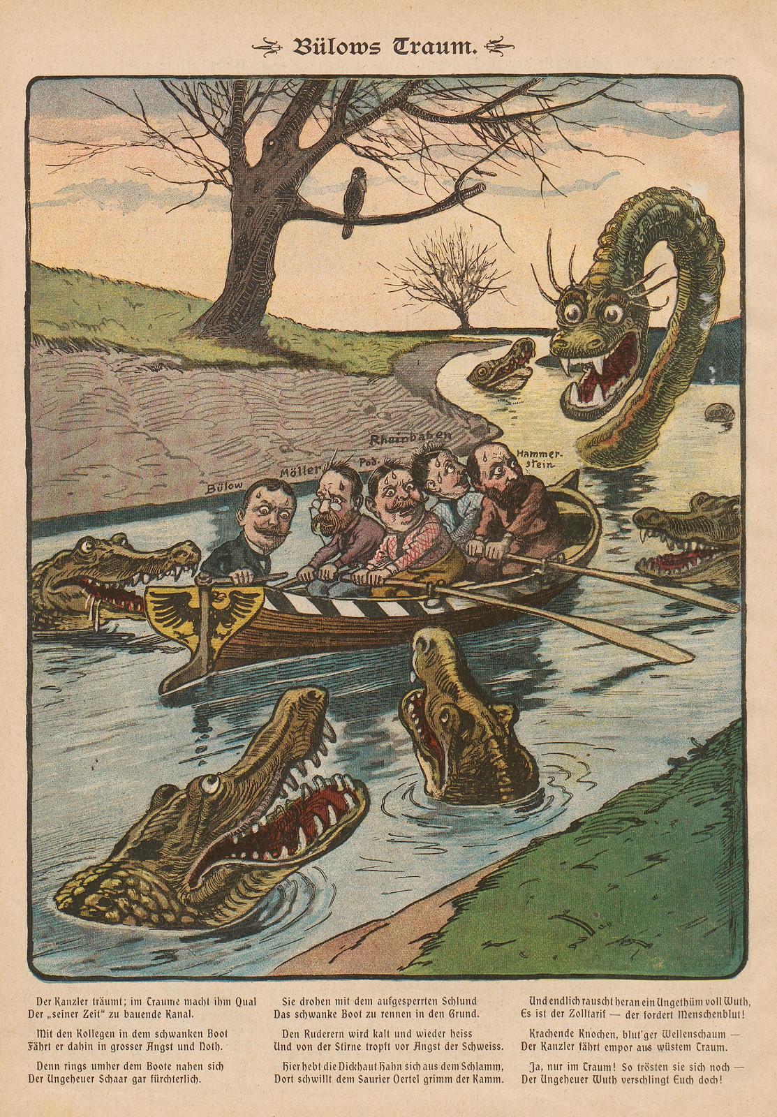 Unsigned - Bulow's dream, 1902