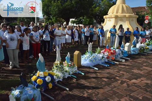 Paróquia de Ipu inicia Mês Mariano com Procissão e Santa Missa.