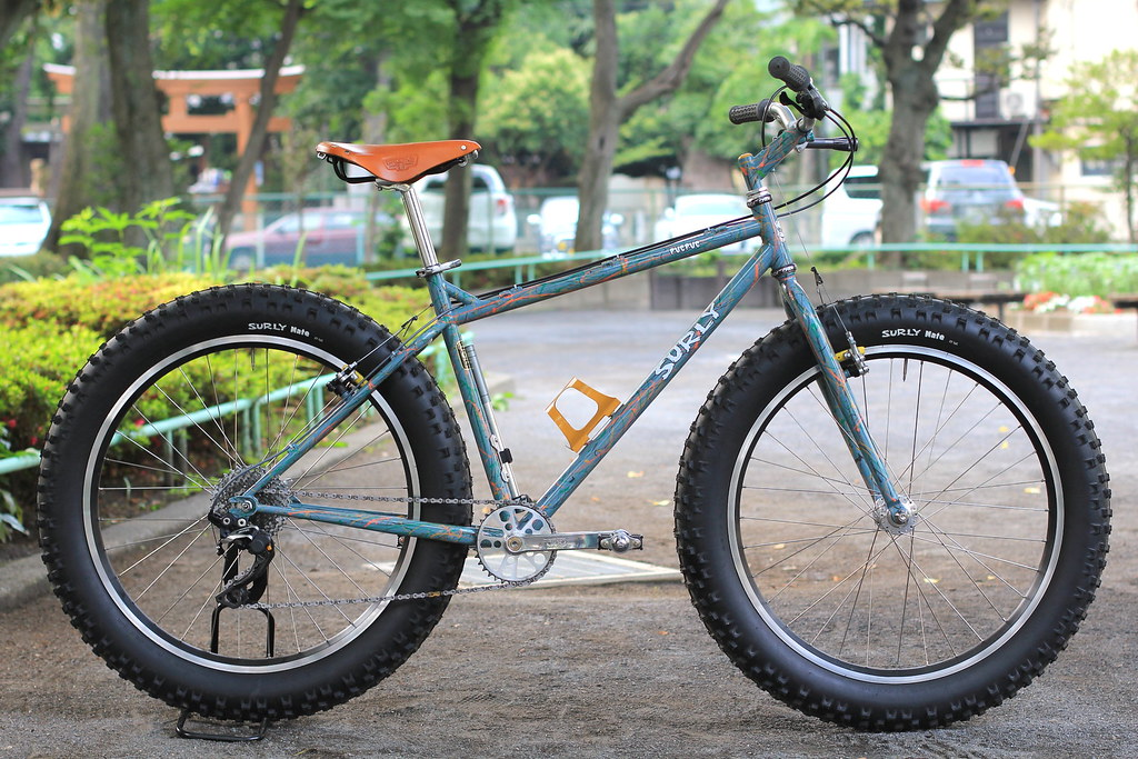 Surly Pugsley Complete Bike Surly Pugsley Complete Bik Flickr
