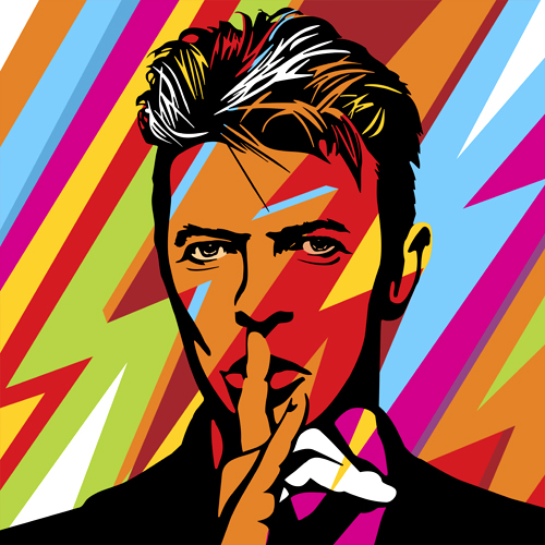mr bowie lobo pop art flickr. Black Bedroom Furniture Sets. Home Design Ideas