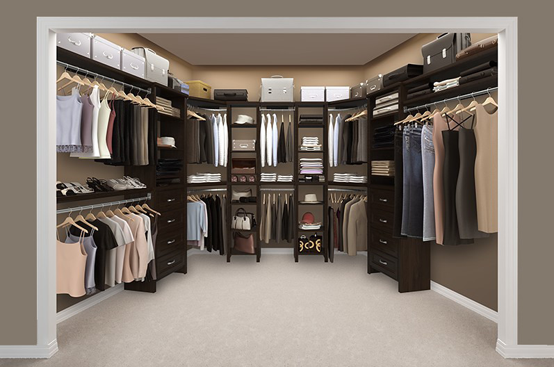 Impressions Walk-In Chocolate Bedroom 3 | Create a custom ...