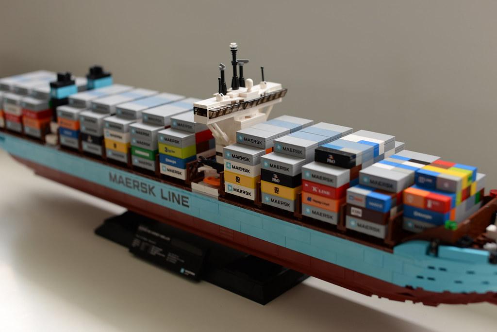 Cargo MAERSK LINE lego - atana studio   Cargo MAERSK LINE Tr…   Flickr