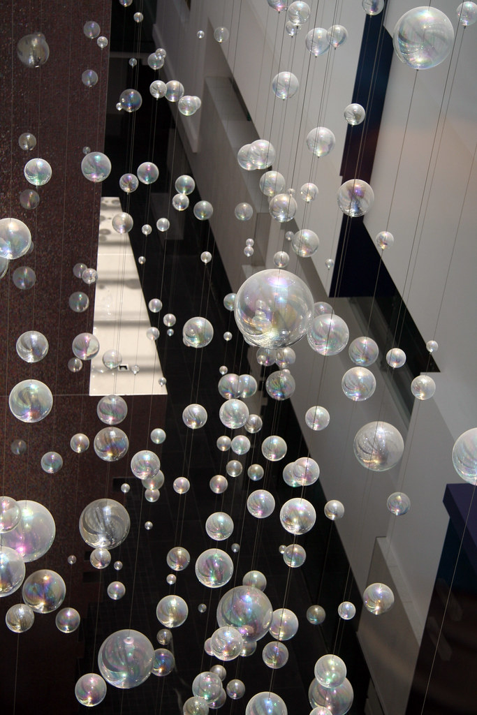 20140207 3230 Floating Bubbles At Sebel Docklands In The