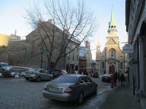 Towards Notre-Dame-de-Bon-Secours, Montréal (2)