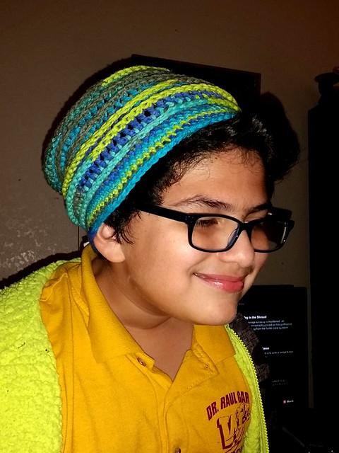 My nephew, Adrien