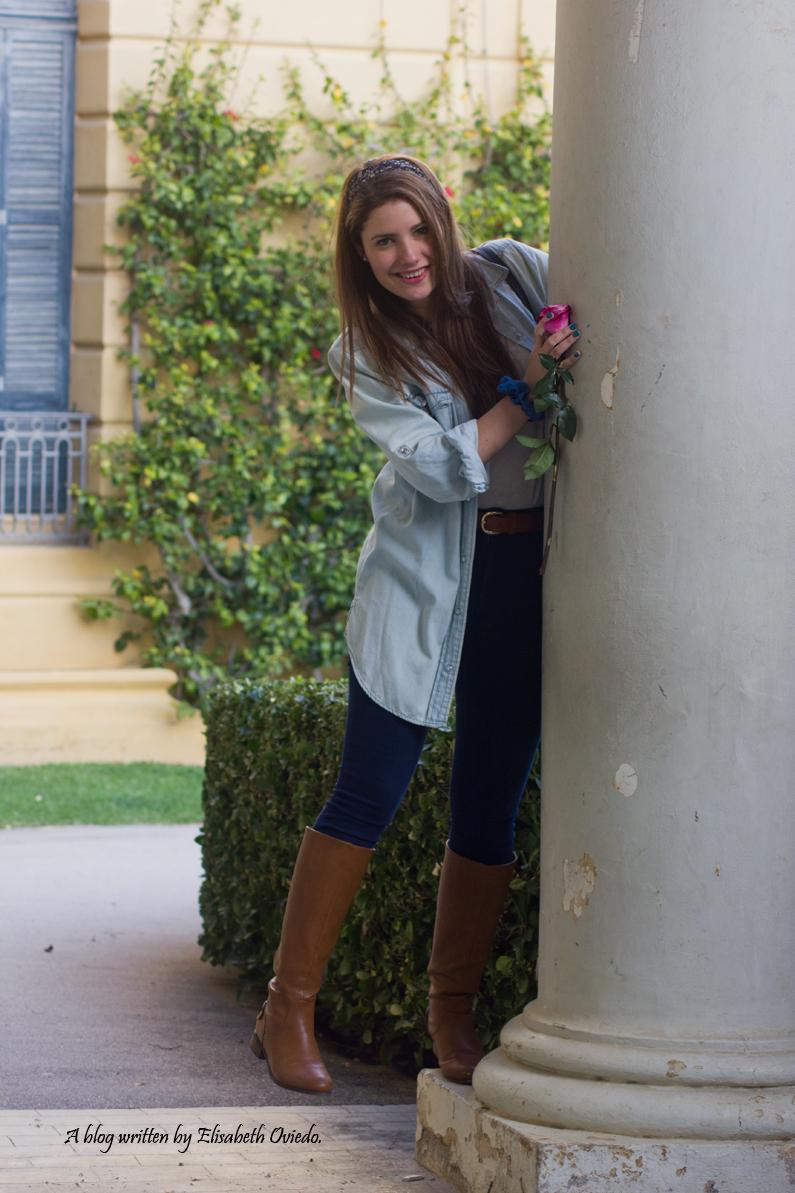 jeans look primavera heelsandroses botas marrones bolso grande (9)