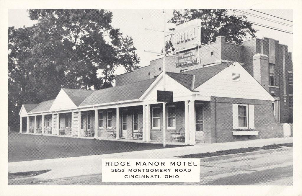 Ridge Manor Motel - Cincinnati, Ohio