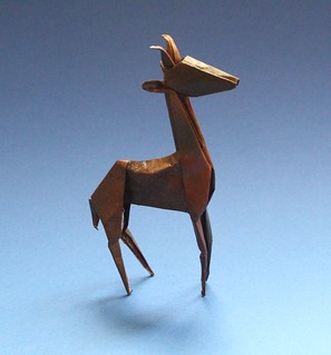 Gerenuk by Lionel Albertino | by origami_8