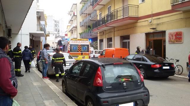 Noicattaro. Incidente via Vecchia Casamassima intero