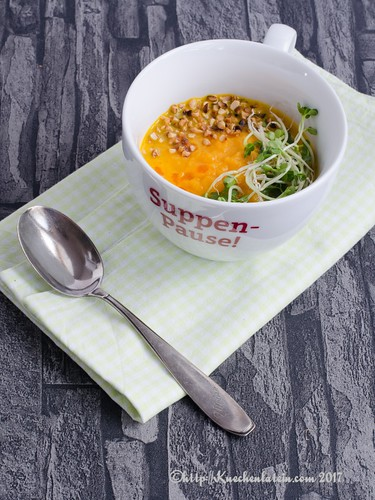 Heidi Swanson's Simple Carrot Soup (1)
