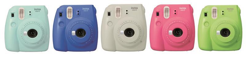 Le Fujifilm Instax Mini 9 : Les «selfies» et le mode «High Key» en bonus
