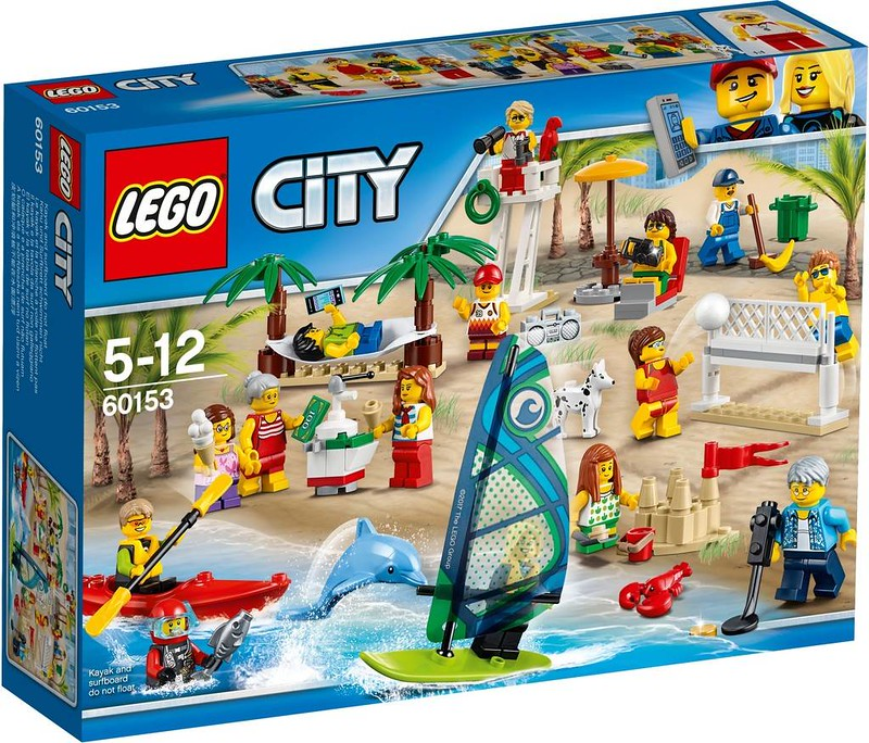 LEGO City Estate 2017 - Fun at the Beach (60153)