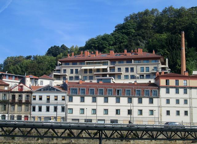 Multi-chimneyed Building Porto
