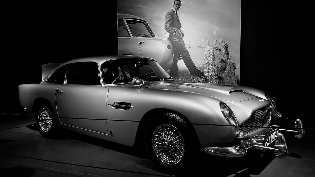 "1964 Aston Martin Db5 >> 1964 Aston Martin DB5   The Original James Bond 007 ""Goldfin…   Flickr"