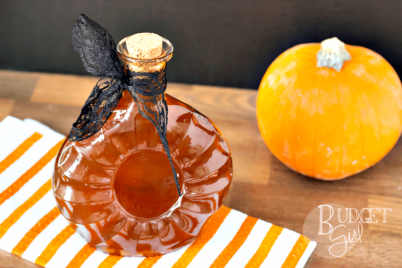 DIY Pumpkin Spice Bourbon Whiskey