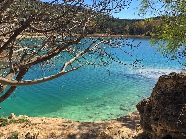 Lagunas de Ruidera en Castilla-La Mancha, otro escenario del Quijote