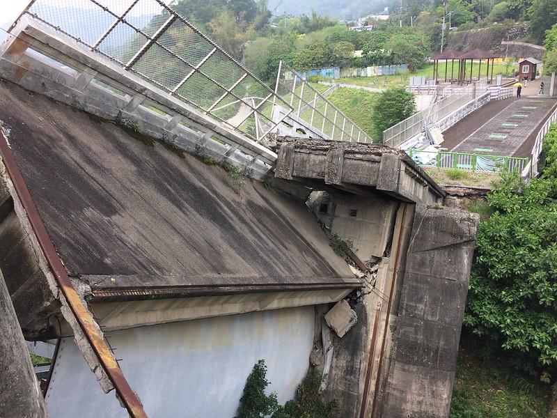 921震毀之石岡壩