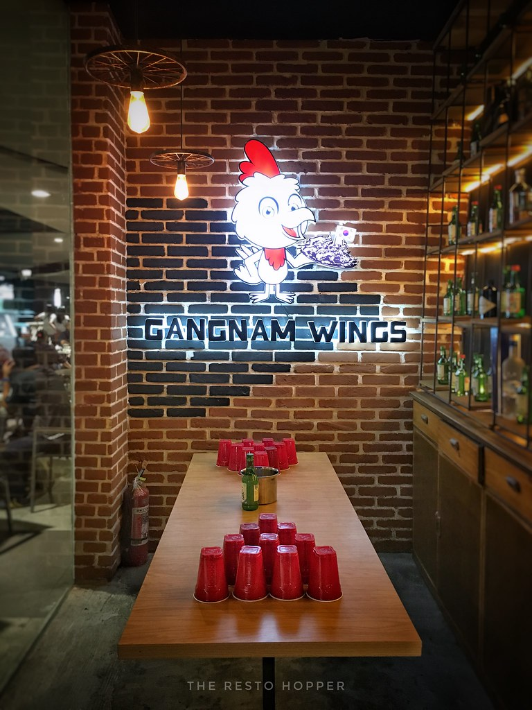 Gangnam Wings Interior