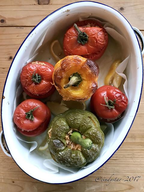 pomodori & peperoni ripieni