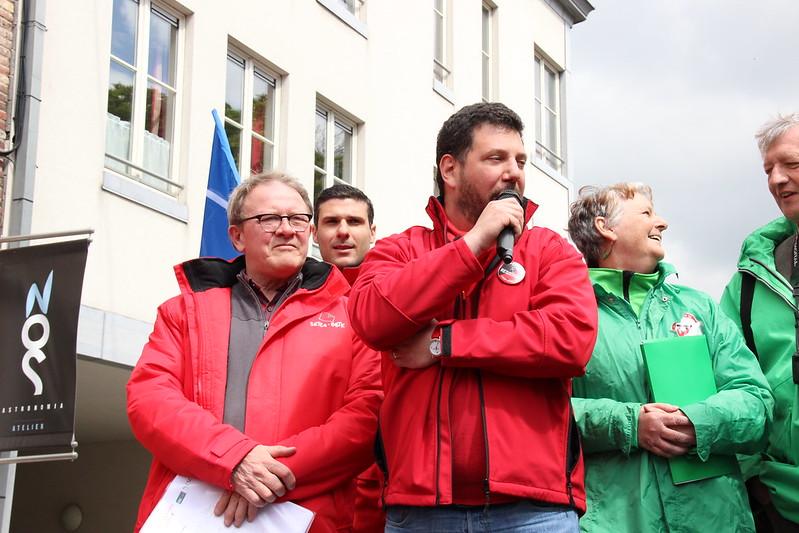 """Le """"non marchand"""" ce vendredi 28 avril 2017 dans les rues de Namur."""