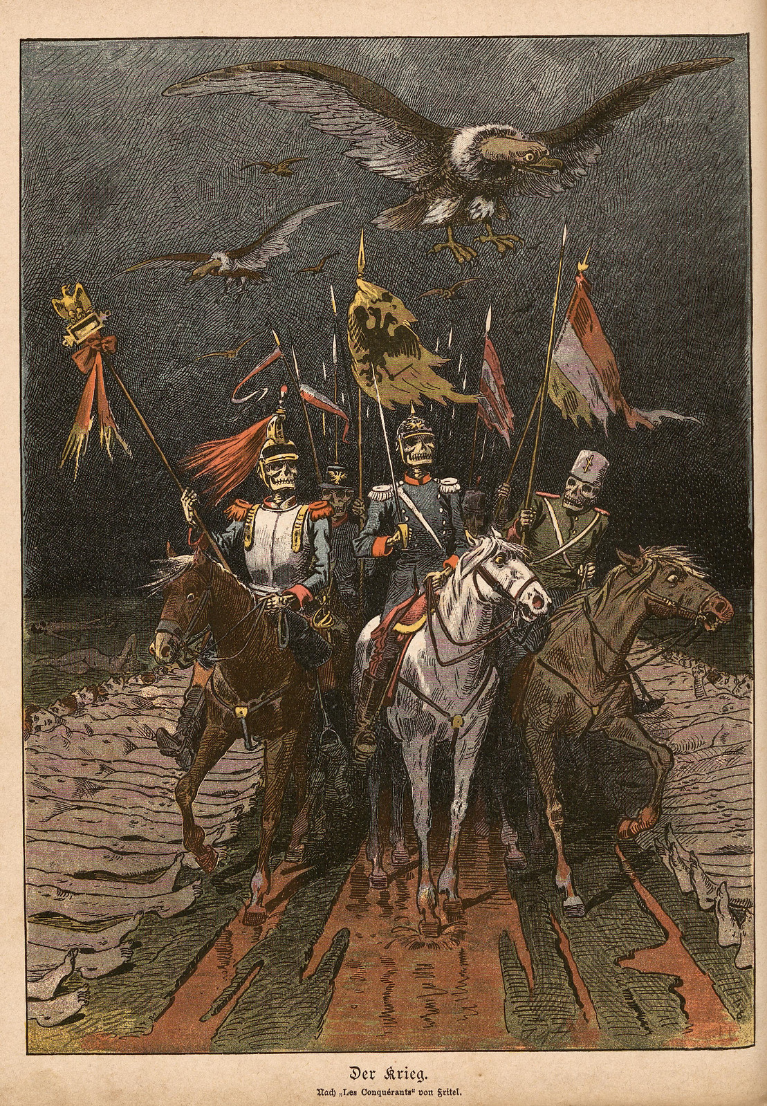 Unsigned - The War, 1895