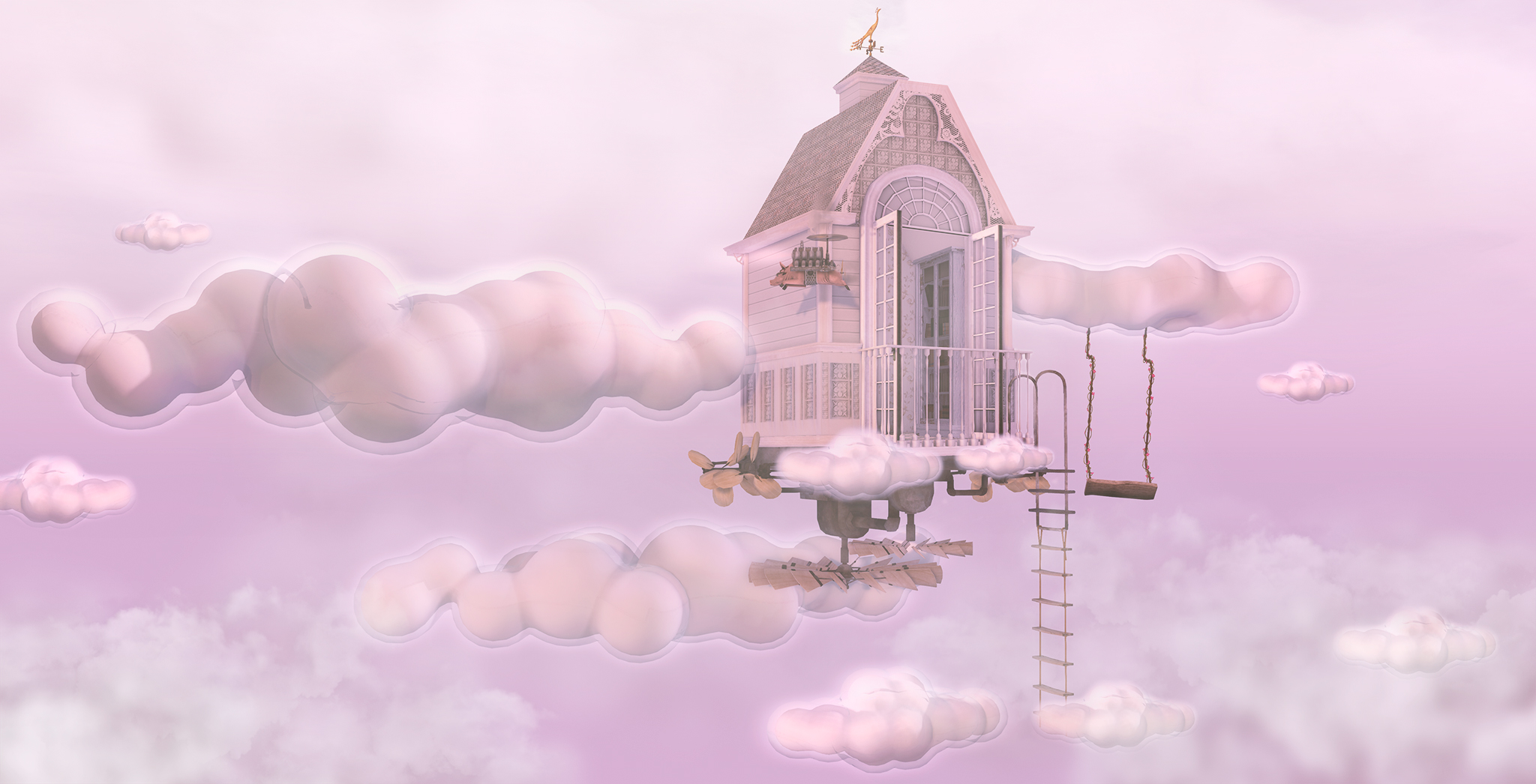 A dreamy house