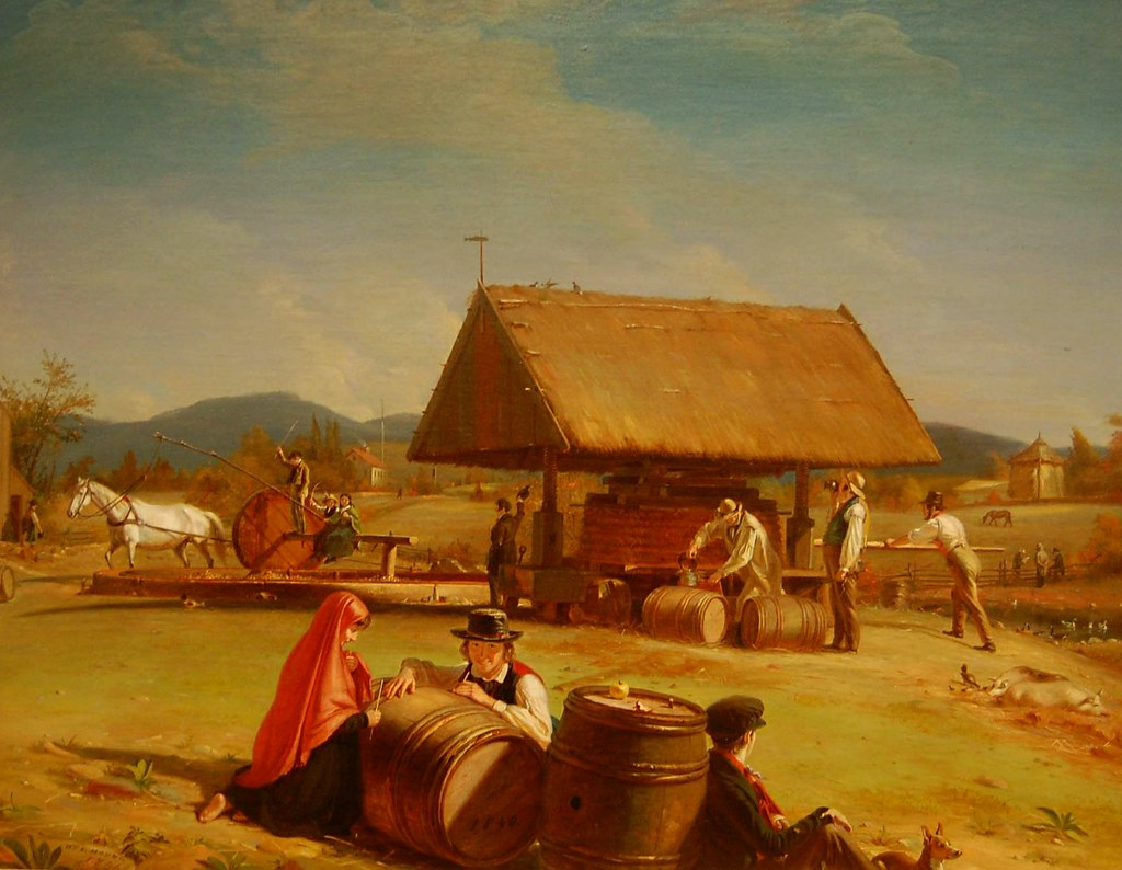 Wonderful image of  York's Metropolitan Museum of Art Cider Making William… Flickr with #B73706 color and 1024x794 pixels