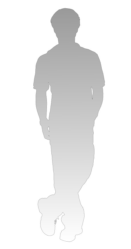 shadow of person - dedication to the openclipart.org | Flickr