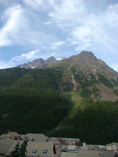 001 Uitzicht vanuit hotel in Villar d'Arene