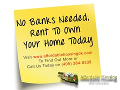 Rent To Own Home Oklahoma City Oklahoma Affordable Housing Flickr